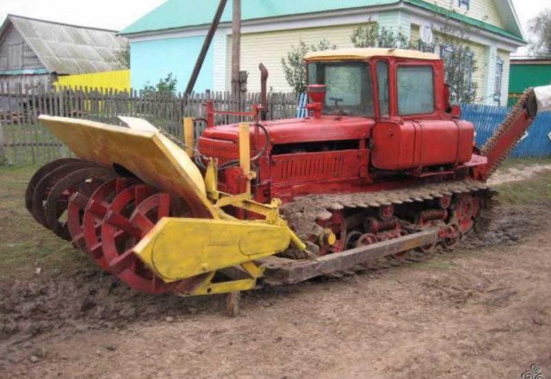 вес трактора дт 75 старого образца - фото 11
