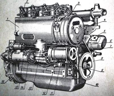 Т-40 комплектовался дизельными