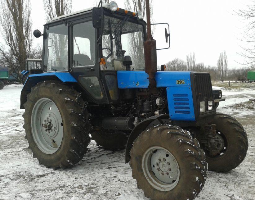Трактор МТЗ технические характеристики устройство цена фото  Трактор МТЗ 892