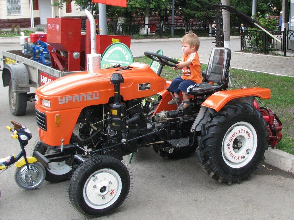Минит трактора