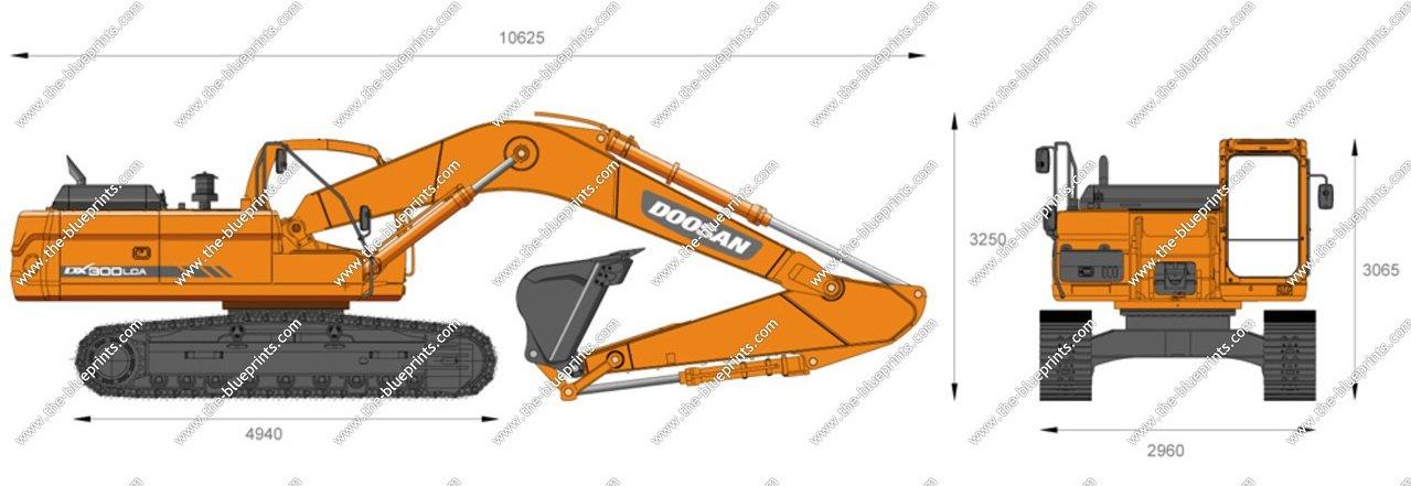 Doosan DX300LCA Hydraulic Excavator
